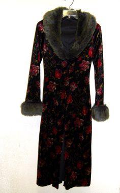 Super Amazing Vintage Betsey Johnson Velvet & Faux by LolaAndBlack, $sold