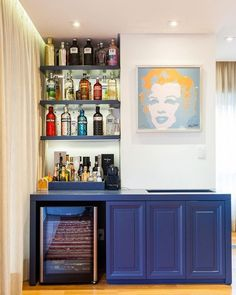 Understanding Mini Bar Design Ideas Some balconies are made to compliment the present home design and decor. When it has to do with designing an outdo. Mirrored Furniture, Mini Bar, Bars For Home, Furniture, Home, Furniture Delivery, Bar Design, Royal Furniture, Studio Interior
