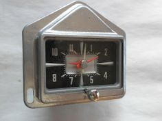 1957 Ford Clock - Serviced and Working with a 30 Day Guarantee + FREE Shipping!!!  $89.88