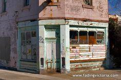 Abandoned Milk Bar Brunswick, Victoria, Australia