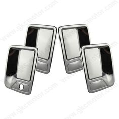 GK-32003-4 - 99-16 Ford Super Duty F250 F350 F450 / 00-05 Ford Excursion 4 Door Chrome Door Handle Cover