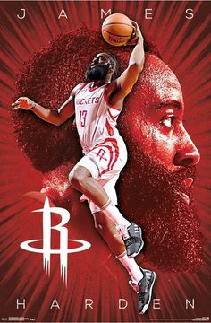 Enter our time-limited give-away and win a Free NBA jersey Now! Houston Rockets Shirt, Houston Rockets Players, Houston Rockets Basketball, Basketball Art, Nba Players, Basketball Players, Nba Rockets, Rockets Logo, Street Basketball