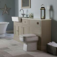 Classic bathroom styling - Hampton bathroom furniture from Roper Rhodes