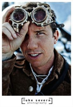 Here's a photo of Trey Ratcliff at Burning Man taken by Luke Stephen Severn.