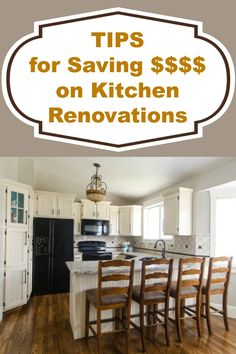 Tips for saving money on major and minor kitchen renovations