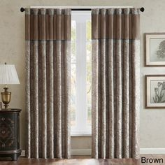 Shop for Madison Park Whitman Curtain Panel Pair. Get free delivery at Overstock.com - Your Online Home Decor Outlet Store! Get 5% in rewards with Club O!
