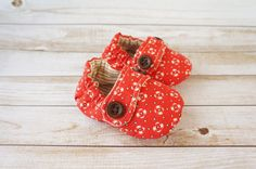 Baby  Shoes  Baby Shoes  Fabric Baby Shoes  3 by littlepearco