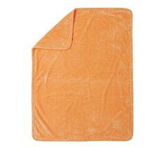 I love the Chamois Stroller Blanket, Orange on potterybarnkids.com