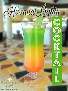 What you need:  3/4 ounce light rum 3/4 ounce coconut rum 3/4 cup pineapple juice 1/2 ounce melon liquor A few drops of grenadine syrup  How to make it: Mix and shake the first thre…