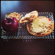 Ciabatta Bake, Quinoa Salad and an apple - keeping a balanced meal is easy with Diet-to-Go!