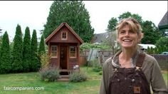 Micro-homesteading in WA with 10K microhome (84 sq ft) in friends' yard - YouTube