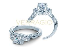 INSIGNIA-7055R engagement ring from The Insignia Collection of diamond engagement rings by Verragio