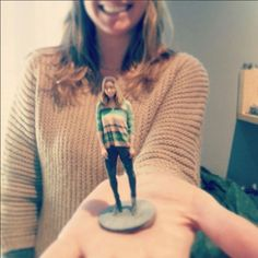 Use a Kinect to scan and 3D print yourself using Skanect