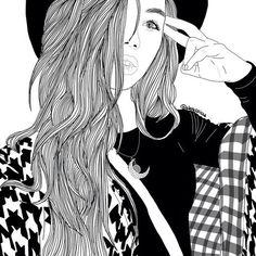 noir, noiretblanc, dessiné, dessin, gris, adolescent, Tumblr, blanc