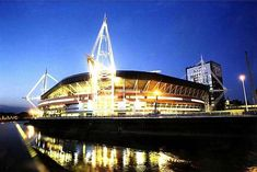 Millennium Stadium, Cardiff.