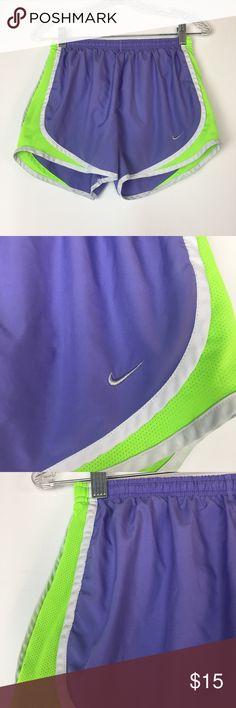 Nike shots size small purple and green Purple and green Nike Shorts