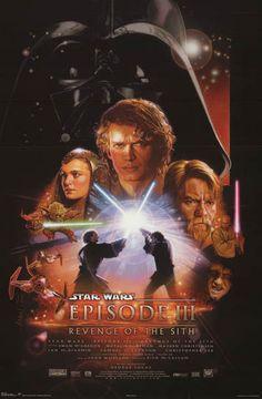 Star Wars Revenge of the Sith Cast Art Movie Poster 22x34 – BananaRoad