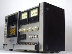 Radios, Diy Dvd Storage, Recording Equipment, Stereo Amplifier, Tape Recorder, Hifi Audio, Audio System, Audiophile, Instagram
