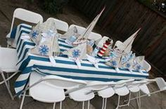 Image Search Results for Nautical theme party ideas. DIY craft sailors hat and boat made activity with folded newspaper.  Party favor for the kids to entertain themselves with. They can decorate their own boat.