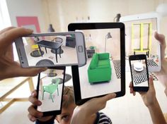Ikea's Augmented Reality Catalog Lets You Virtually Demo Its Furniture In Your Living Room (steven Tweedie, August 2013)