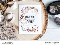 Coffee Love Stamp Set