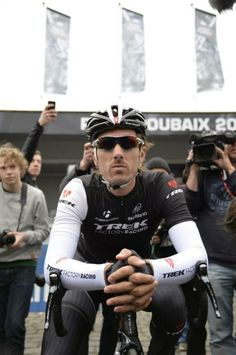 Paris-Roubaix 2014 - Fabian Cancellara at the start of Paris-Roubaix