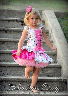 Summer Girl Skirt Set-minnie, mouse, disney, pettiskirt, pageant, set