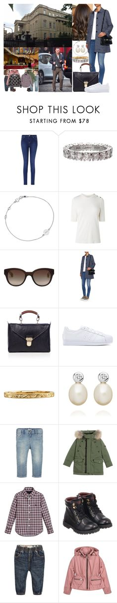 """Arriving back at Stafford House in London in the afternoon"" by marywindsor ❤ liked on Polyvore featuring Monsoon, Cartier, Astley Clarke, L.K.Bennett, Orla Kiely, Weekend Max Mara, Mulberry, adidas, Giorgio Armani and Burberry"