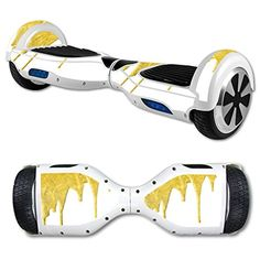 MightySkins Protective Vinyl Skin Decal for Hover Board Self Balancing Scooter mini 2 wheel x1 razor wrap cover sticker Gold Drip >>> Read more reviews of the product by visiting the link on the image.