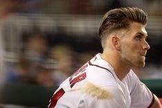 Bryce Harper, hair is on point!