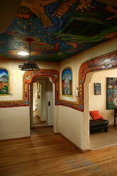 murals, mexican style house, [IMG_9444] | Flickr - Photo Sharing!