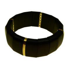 Χρυσό Βραχιόλι Κ18. Έβενος Belt, Bracelets, Accessories, Fashion, Belts, Moda, Fashion Styles, Bracelet, Fashion Illustrations