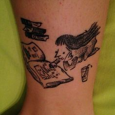 31 Amazing Literary Tattoos