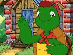 Franklin the Turtle cartoon! This was one of my son's favorite cartoons!