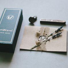 Organic Gardening Information Wedding Cards, Wedding Gifts, Wedding Invitations, Wedding Decor, Wedding Stuff, Jewelry Packaging, Gift Packaging, Wax Envelope Seal, Invitations