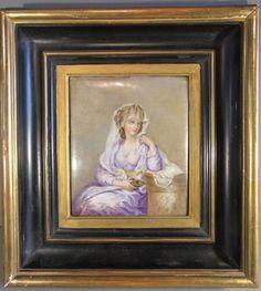 Peinture sur Porcelaine, Epoque Napoléon III