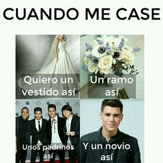 Read 5 Cuando me case from the story CNCO Memes by AngelaNayelITMR (CNCOMisterios! ¿A quien escogen? Funny Texts Jokes, Text Jokes, Funny Memes, Keep Calm And Love, I Love You, My Love, Why Dont We Imagines, Joker Wallpapers, Little Mix