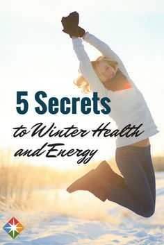 5 Secrets to Winter Health and Energy. It's so hard to find the energy to motivate, especially in the winter. Learn the secrets to winter health and energy! | via @SparkPeople