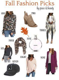 Grace & Beauty Fall Fashion Picks 2017 #falloutfit #falltime #howtowear