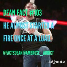 OHHH DEAN... YOU SET A FIRE IN MY HEART... CAUSE IT BURNS FOR YOU MY LOVE<3<3<3<3<3<3<3<3<3<3