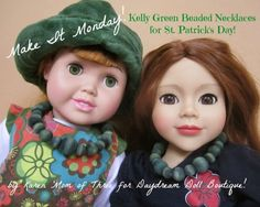 Dream. Dress. Play.: Make It Monday~ Make Your Dolls A Kelly Green Rit ...