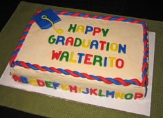Graduation Party Cake Ideas | Fun, fabulous ideas for celebrating your child's graduation from ...