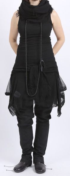 rundholz dip - Jacke Tüll mit Top black gum - Sommer 2016 - stilecht - mode für frauen mit format...