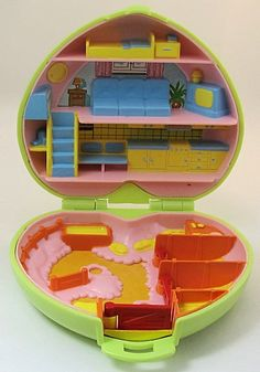 1989 Vintage Polly Pocket Polly's Pony Club. I think I bought this at a sale of work in my primary school.