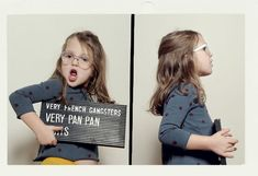 Very French Gangsters AKA little tots & their mug shots. Amazing.
