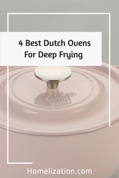Are you looking for the best Dutch oven for deep frying? Read on to find the detailed and unbiased reviews of each product handpicked by our team
