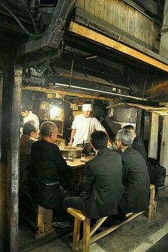 Omoide Yokocho (Memory Lane) street food, Shinjuku, Tokyo. Try the yakitori there