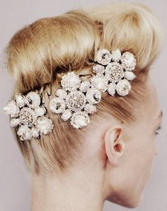 hair bling, Chanel Haute Couture Spring/Summer 2008