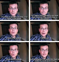 John Green: helping you understand Nerdfighteria.