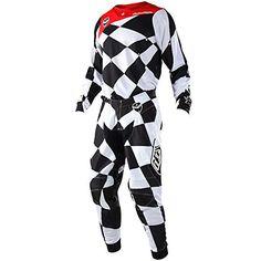 Troy Lee Designs Mens Offroad Motocross Polka Dot GP Air Jersey XX-Large, Navy//Orange